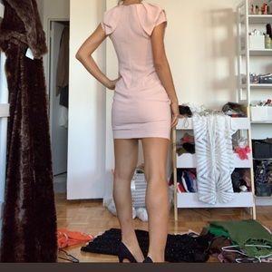 Pink mini dress formal/date night dress